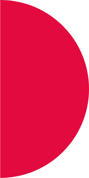 demi cercle rouge